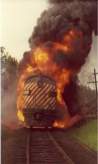 你们都弱爆了,这才是火车