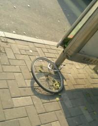 自行车轮胎,什么情况