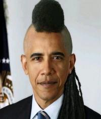 奥巴马新发型