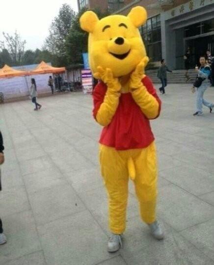 小熊熊你衣服穿反了吗