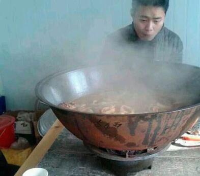 朋友请客吃火锅