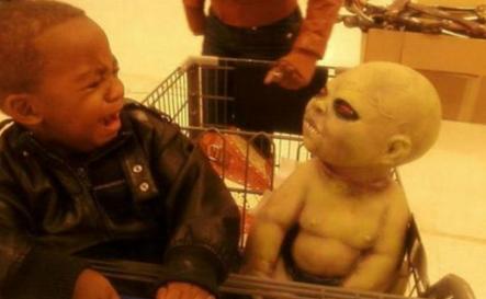 吓死宝宝了